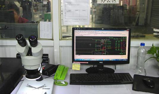 Microscope (+/-0.001mm)