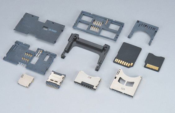Customized Metal Insert Plastic Injection Molded Parts